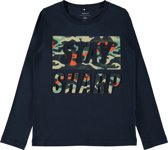 Name it Jongens T-shirt - Dark Sapphire - Maat 134-140