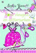 Roze vleugels en glitterjurken
