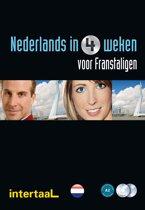 Nederlands In 4 weken voor Franstaligen Tekst-/Werkboek + Audio-Cd's (2X)