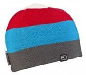 Ortovox Beanie Multicolor White / Blue / Red Unisex