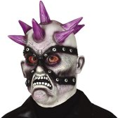 Punk zombie horror masker van latex - Halloween verkleed maskers - Enge maskers