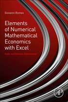 Elements of Numerical Mathematical Economics with Excel