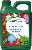 DCM Vloeibare meststof Huis & Tuin - 2,5 liter - set van 2 stuks