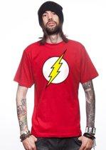The Flash t-shirt rood voor heren - Marvel The Avengers verkleed shirt L (52)