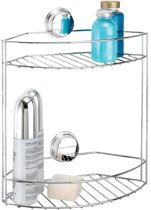 TWIST 'N' LOCK PLUS badkamer rek dubbel – bevestigen zonder boren