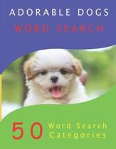 Adorable Dogs Word Search