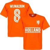Nederlands Elftal Wijnaldum 8 Team T-Shirt