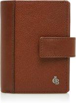 Castelijn & Beerens - Vivo Mini wallet 10 pasjes RFID | cognac - Cognac
