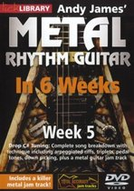 Andy James' Metal Rhythm Guitar In 6 Weeks - Wk 5