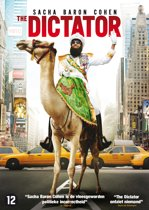 DVD cover van The Dictator