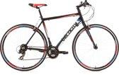 Ks Cycling Racefiets 28 inch fitness-bike Velocity met 21 versnellingen, zwart -