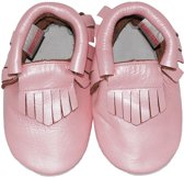 BabySteps slofjes Moccasins Pink Ibiza Style extra small