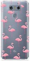 LG G6 Hoesje Flamingo