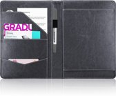 Schrijfmap / Conferentiemap - A4 - Zwart - type SMA4