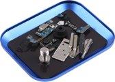Let op type!! Aluminium Alloy Screw Tray Phone Repair Tool(Blue)