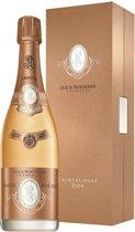Louis Roeder Cristal Rosé Prem Giftbox 2008 Champagne - 1 x 75 cl