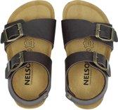 Nelson Kids jongens sandaal - Bruin - Maat 27