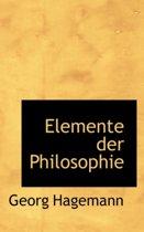 Elemente Der Philosophie