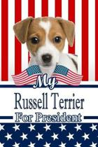 My Russell Terrier for President