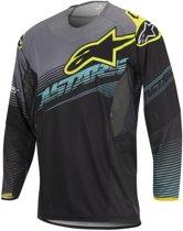 Alpinestars Shirt Techstar Factory Black/Teal/Fluor Yellow-M