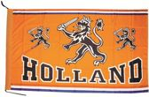 Vlag Holland Oranje Leeuw - 100 x 70 cm