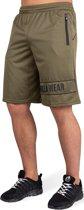 Gorilla Wear Branson Shorts - Zwart/Legergroen - L