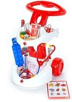 KLEIN THEO Dokterswagen met accessoires