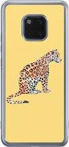 Huawei Mate 20 Pro siliconen hoesje - Leo wild