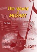 THE WORLD OF MOZART + meespeel-cd. Voor dwarsfluit. <br /><br /> Bladmuziek voor dwarsfluit, izis, bladmuziek voor fluit, play-along, bladmuziek met cd, muziekboek, klassiek, barok, Bach, Händel, Mozart.