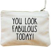Make-up tasje wit| You look fabulous today