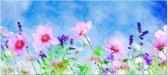 Canvas Schilderij Bloemen