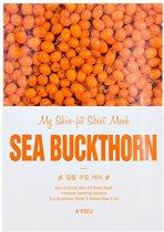 A'PIEU My Skin-Fit Sheet Mask Sea Buckthorn 25g.