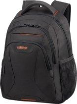 American Tourister Laptoprugzak - At Work Laptop Backpack13.3-14.1 inch Black/Orange