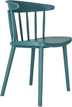 Issie Odi stoel - Kunststof - Blauw