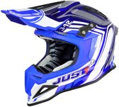 JUST1 Helmet J12 Flame Blue 54-XS