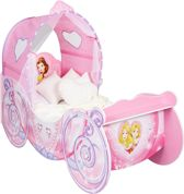 Disney Princess - Koetsbed - met led verlichting - Roze