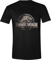 Jurassic Park - Staff Logo Mannen T-Shirt - Grijs - XL