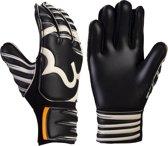 RWLK Kids Keepershandschoenen-Unisex-Maat-4-Zwart