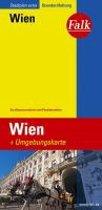 Falk Stadtplan Extra Standardfaltung Wien 1:21 500