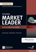 Market Leader 3rd Edition Extra Intermediate Coursebook with DVD-ROM and MyEnglishLab Pack