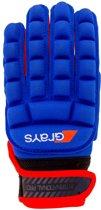 Hockeyhandschoen International Pro Navy Rood