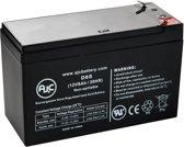 AJC® battery compatibel met AJC Battery 12V 8Ah Lood zuur accu