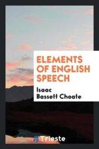 Elements of English Speech