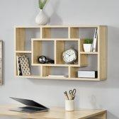 [en.casa]® Design wandrek - Sonoma eiken look