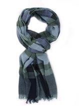 Dunne sjaal - Lange brede sjaal - Mooie sjaal - Sjaal van viscose en katoen