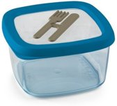 Snips Aroma Lunchbox - 15 x 15 x 8,5 cm - Blauw