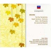 Brahms: Symphonies Nos  1-4 / Overtures / Alto Rhapsody Etc