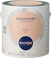Histor Perfect Finish Muurverf Mat - 2,5 Liter - Allerliefst