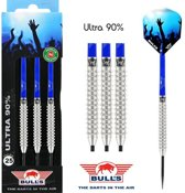 Bull's Ultra 90% 21 gram Steeltip Dartpijlen