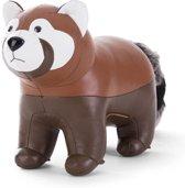 Zuny boekensteun red panda tan